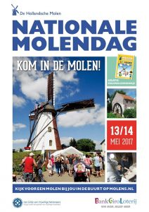 13 en 14 mei 2017 Nationale Molendag