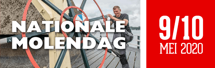 Nationale Molendag 2020 - 9/10 Mei